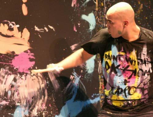 Давид Гарибальди — танцующий художник