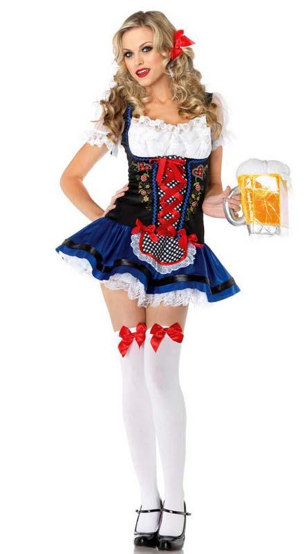 мадам с пивом