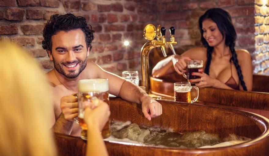 баня с пивом