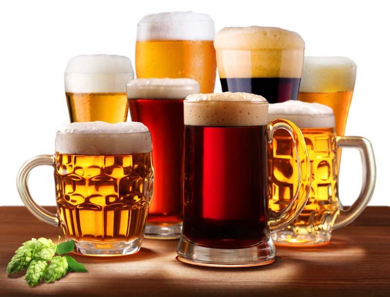 Разные сорта пива