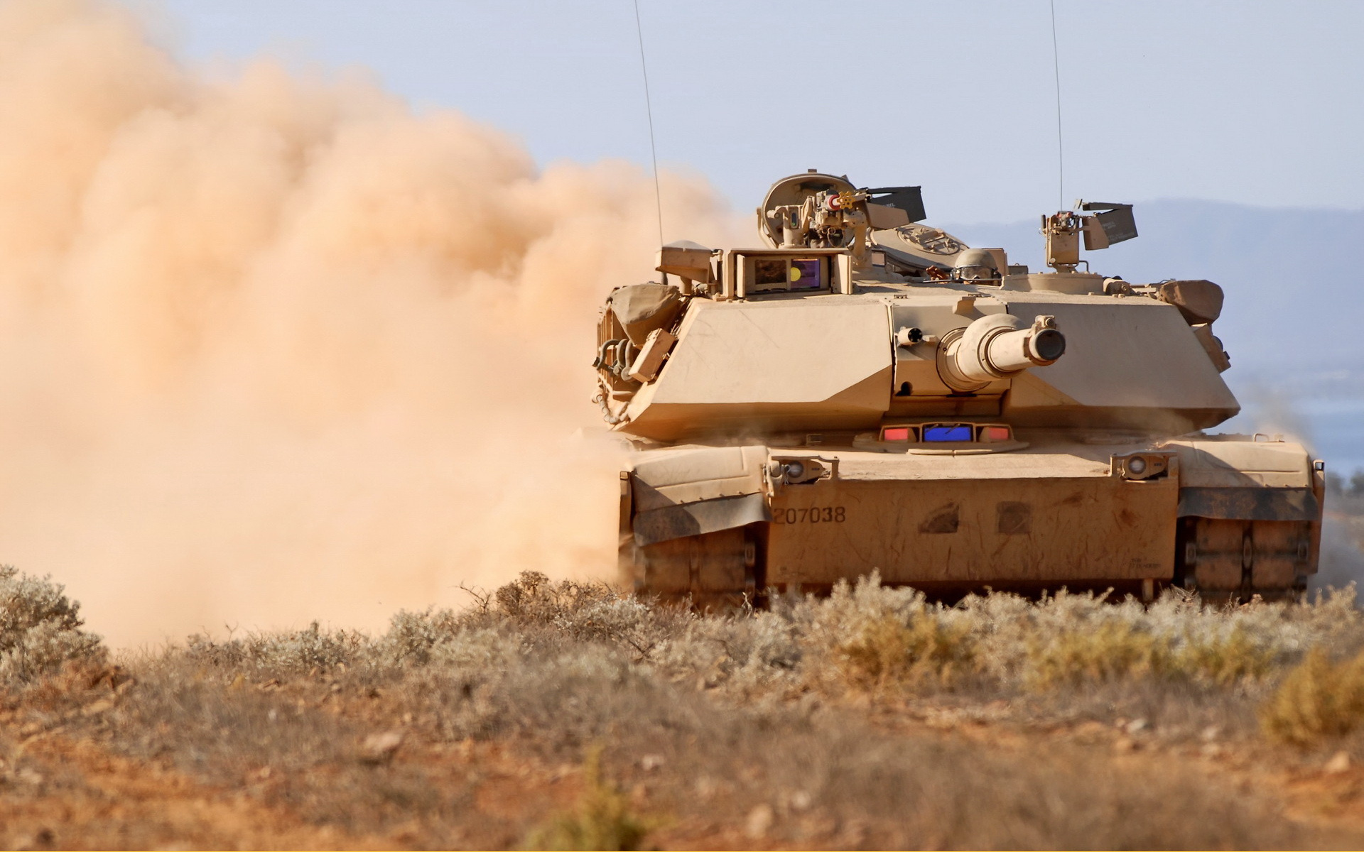 Современный танк Абрамс Abrams