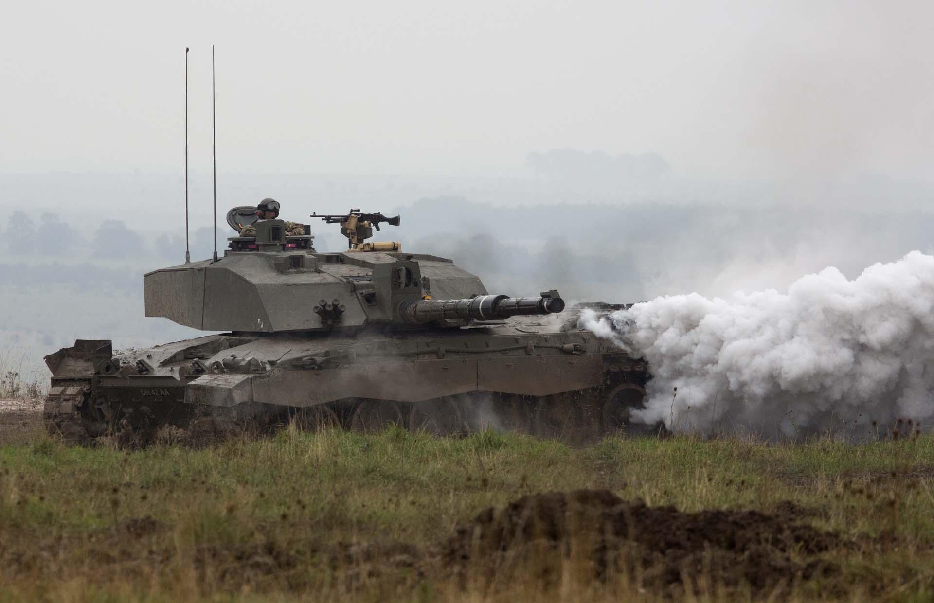Современный танк Челенджер 2 Challenger 2 Англия