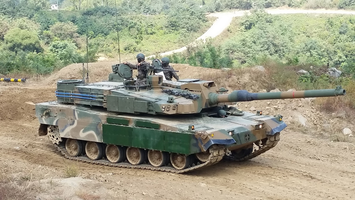 K2 Black Panther Южная Корея