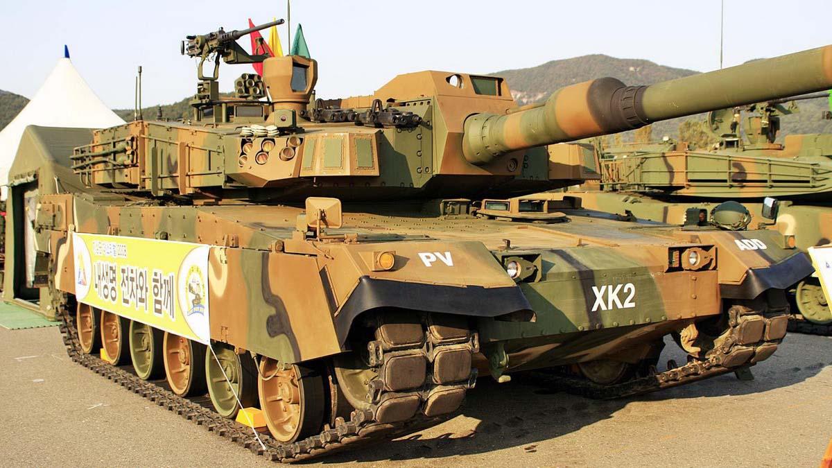 Современный танк K2 Black Panther