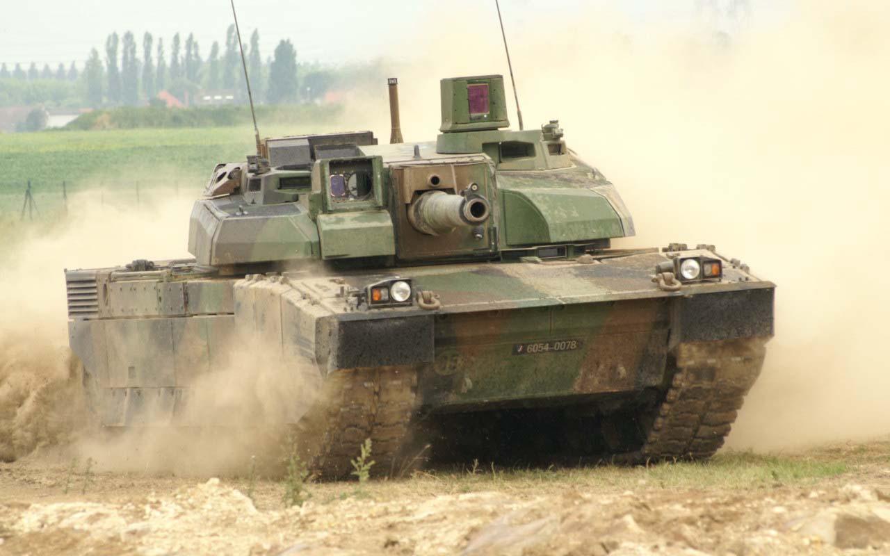 Современный танк Леклерк (Фрпанция)