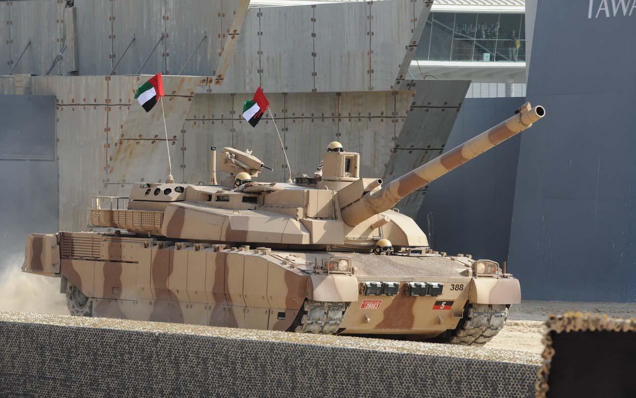 Современный танк Леклерк