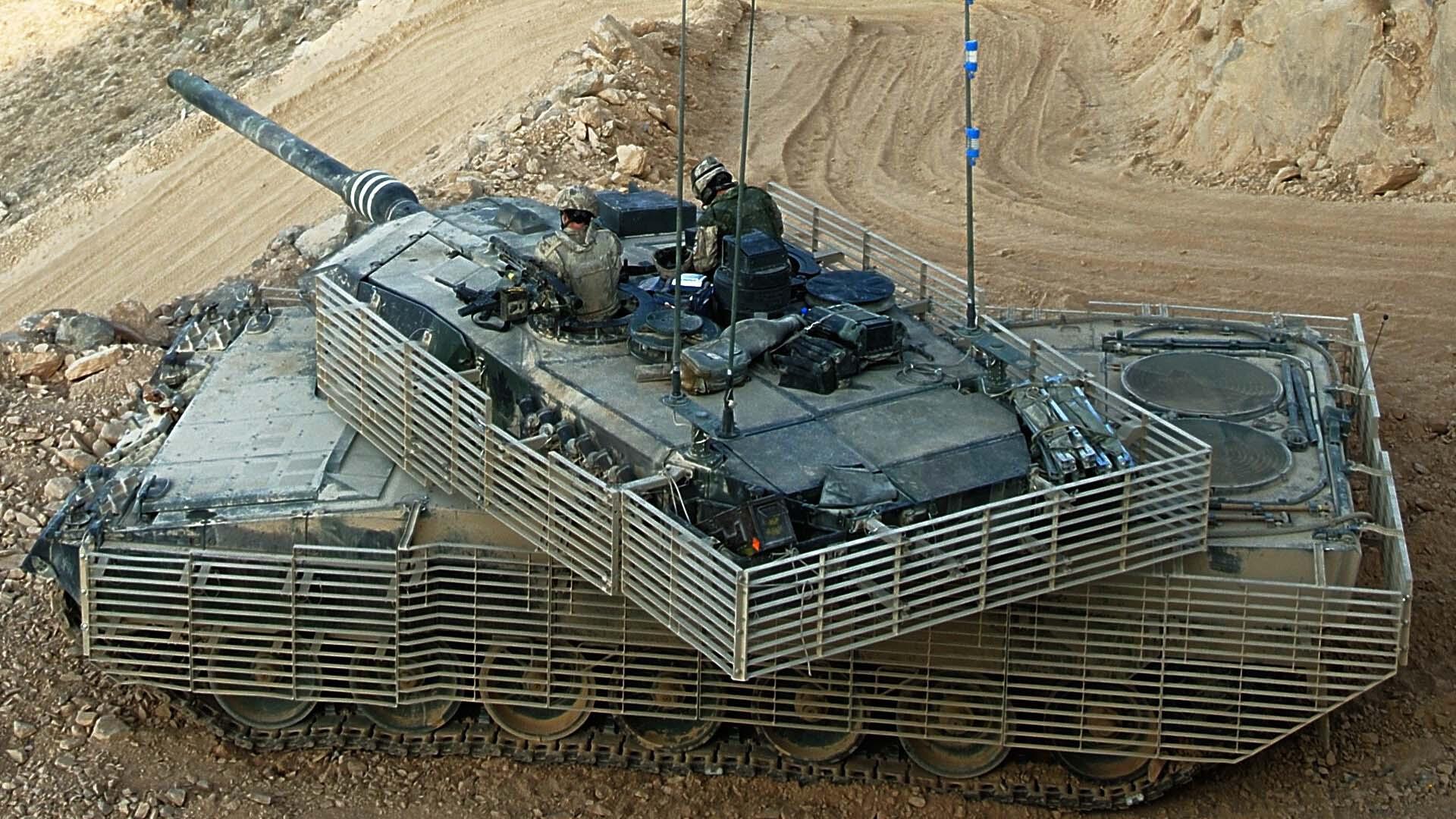 Cовременный танк Германии Leopard 2