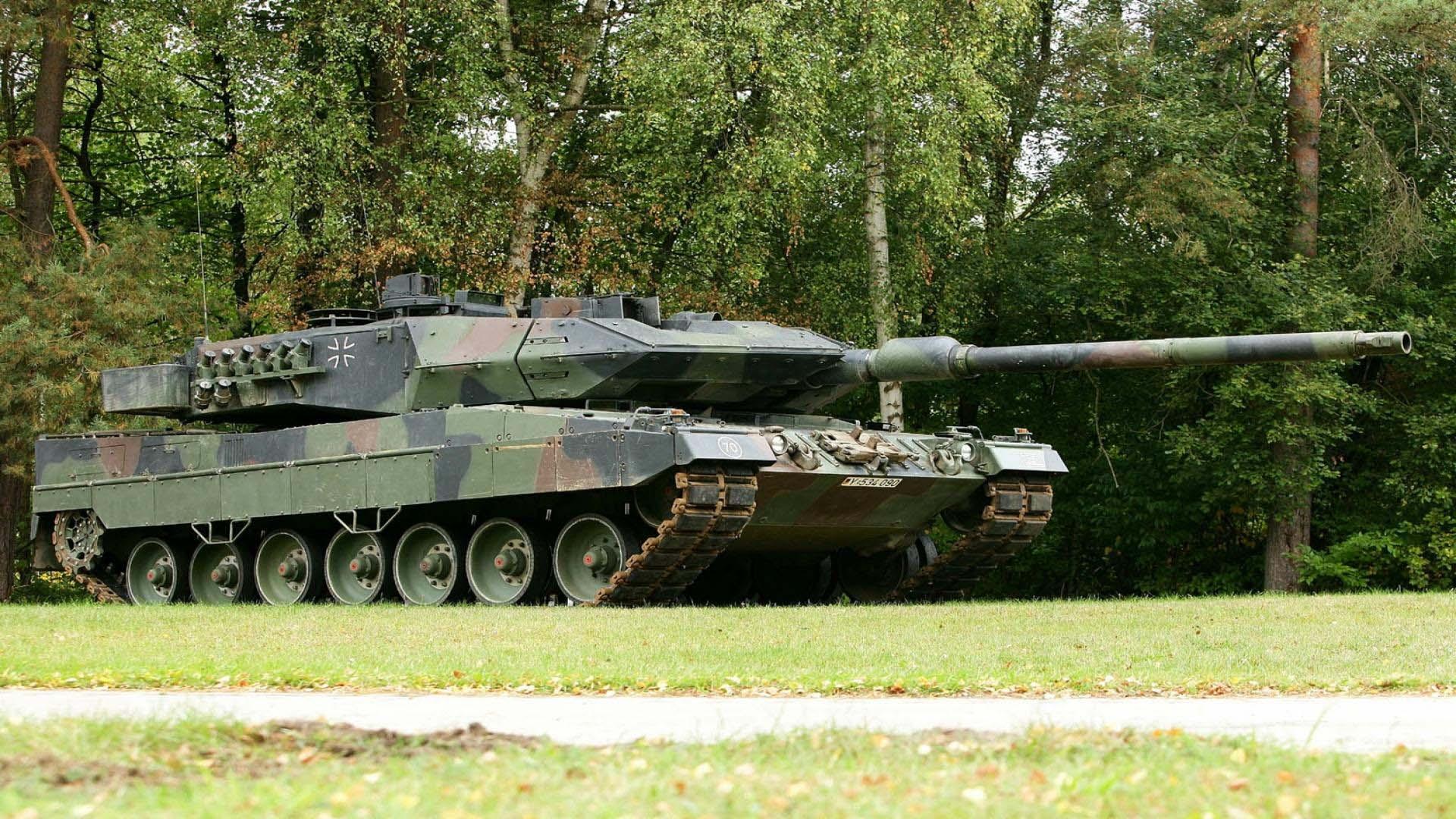 Cовременный танк Германии Леопард