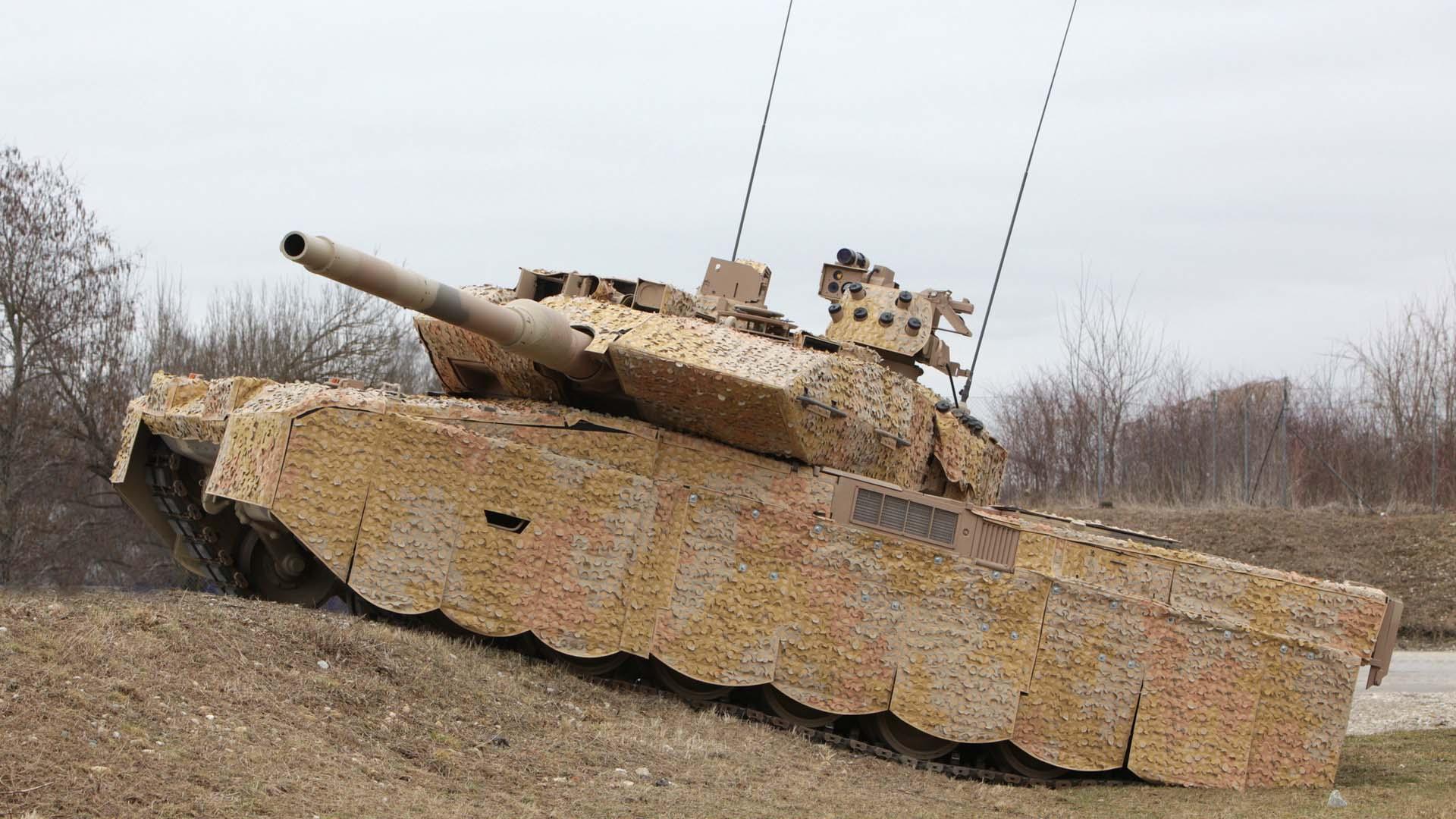 Королевский Леопард 2