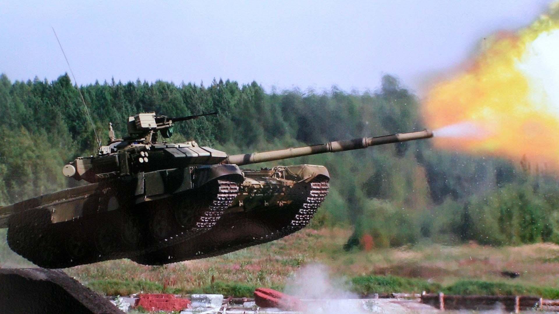 Фото современного танка Т-90