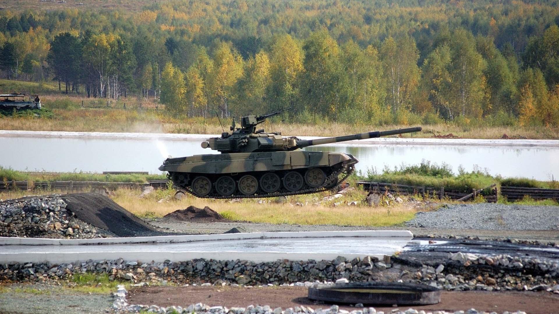 Фото танка Т-90 Россия
