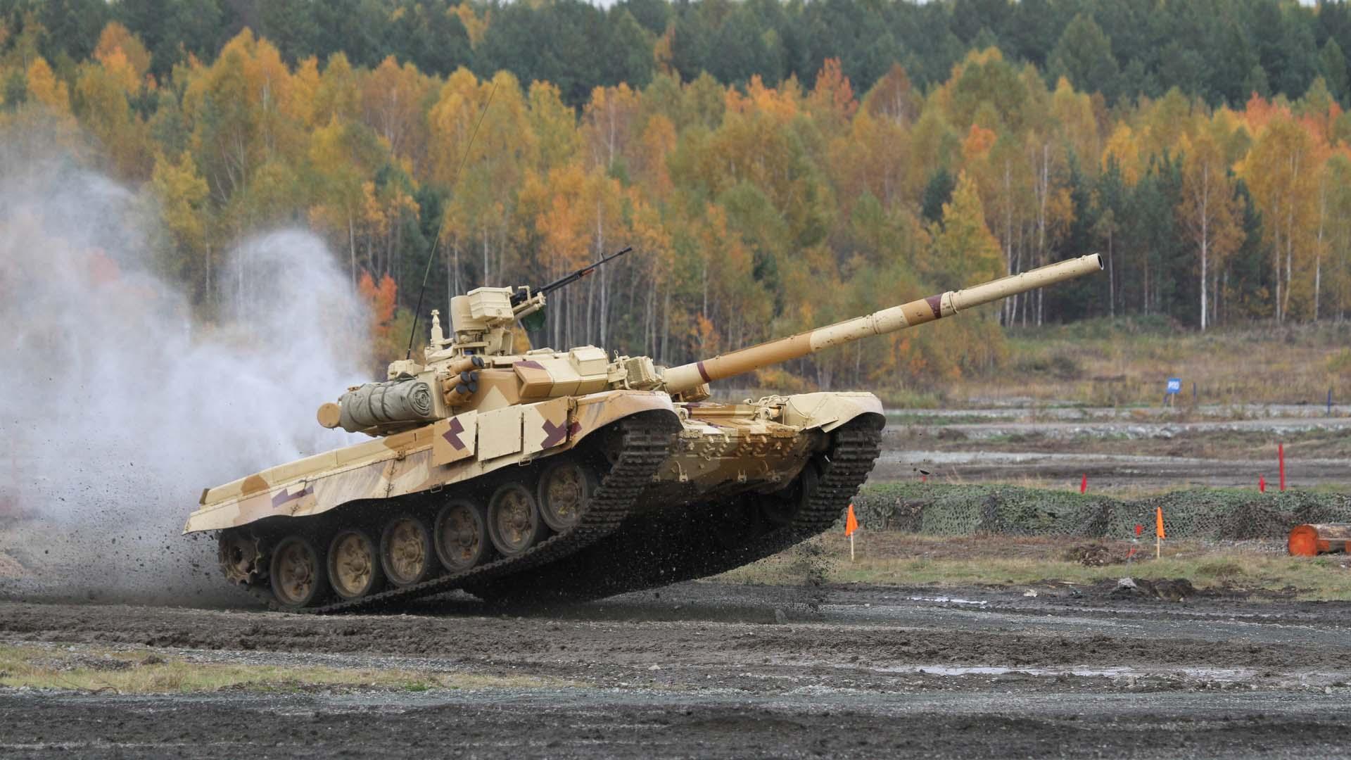 Т-90 Владимир Россия