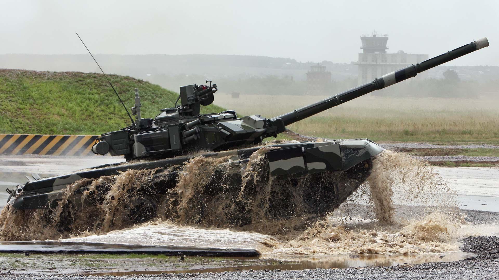 Современный танк Т-90 Владимир