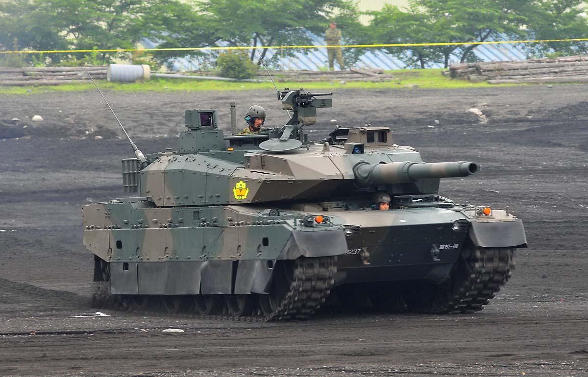 Современный танк Тип 10