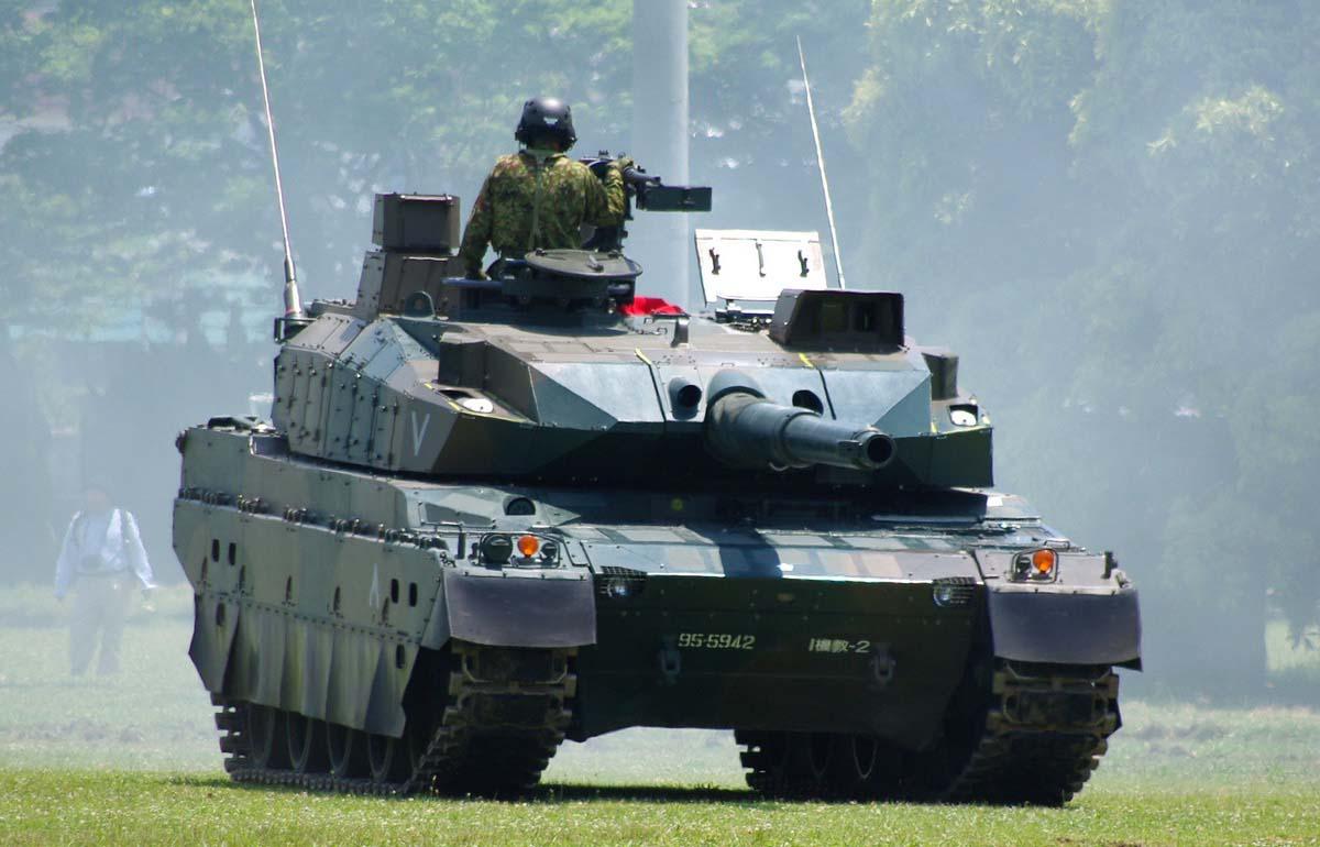 Современный танк Тайп 10