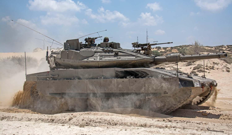 Современный танк Merkava