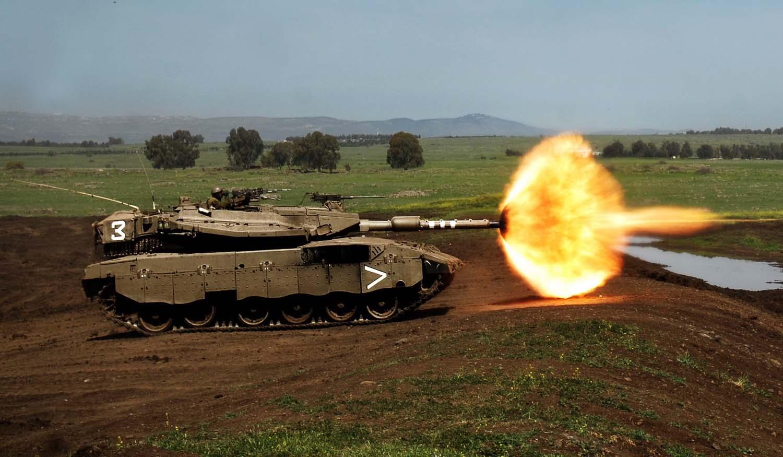 Современный танк Меркава Израиль Merkava