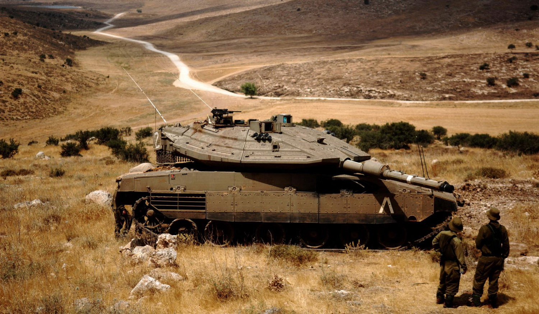 танк Меркава Израиль