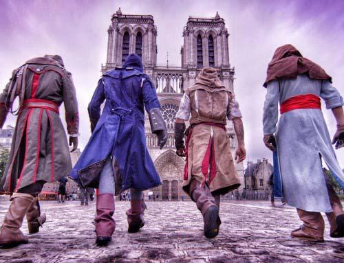 Невероятные трюки и погоня в стиле Assassin's Creed