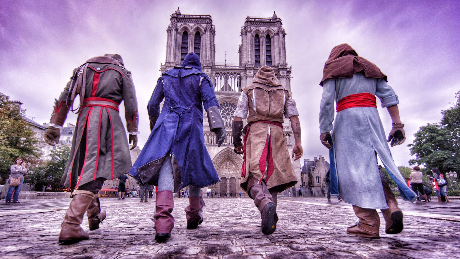 Паркур Assassin's Creed in Real Life