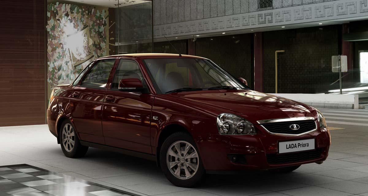 лада приора рейтинг российских авто