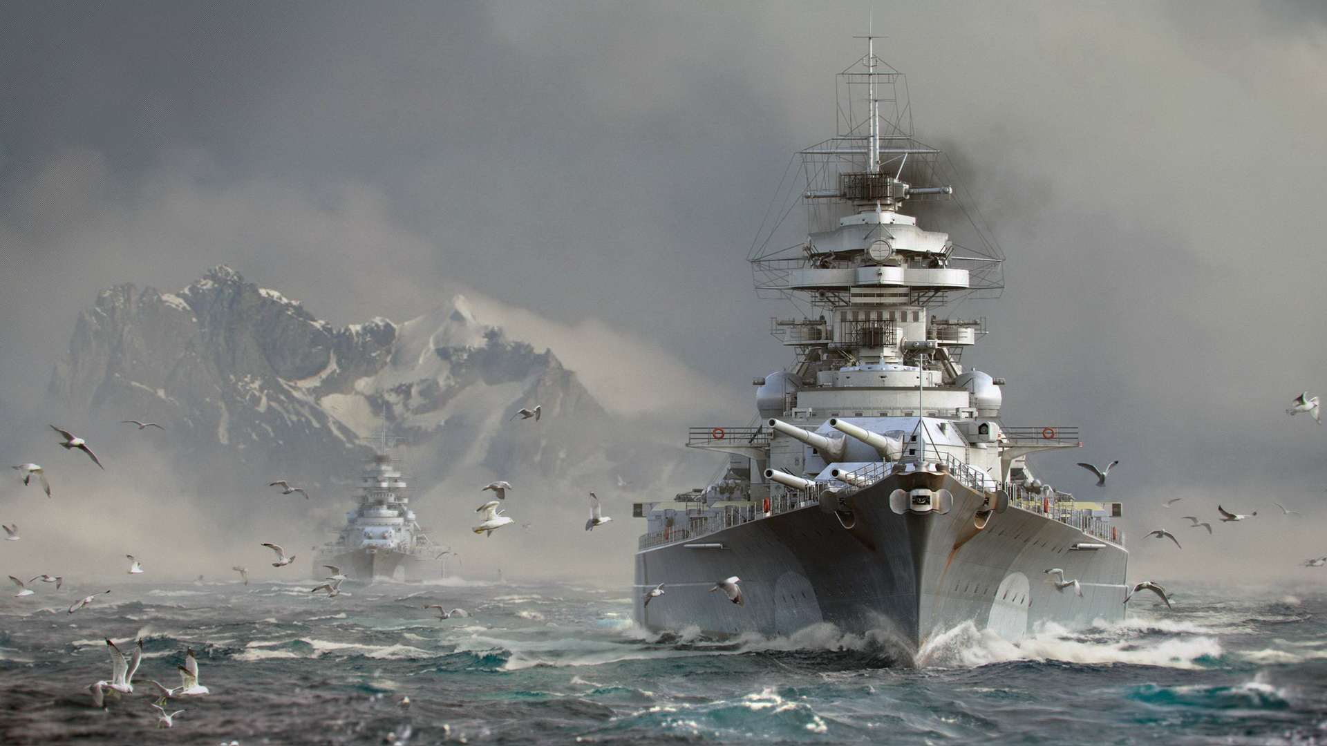 Обои World of Warships