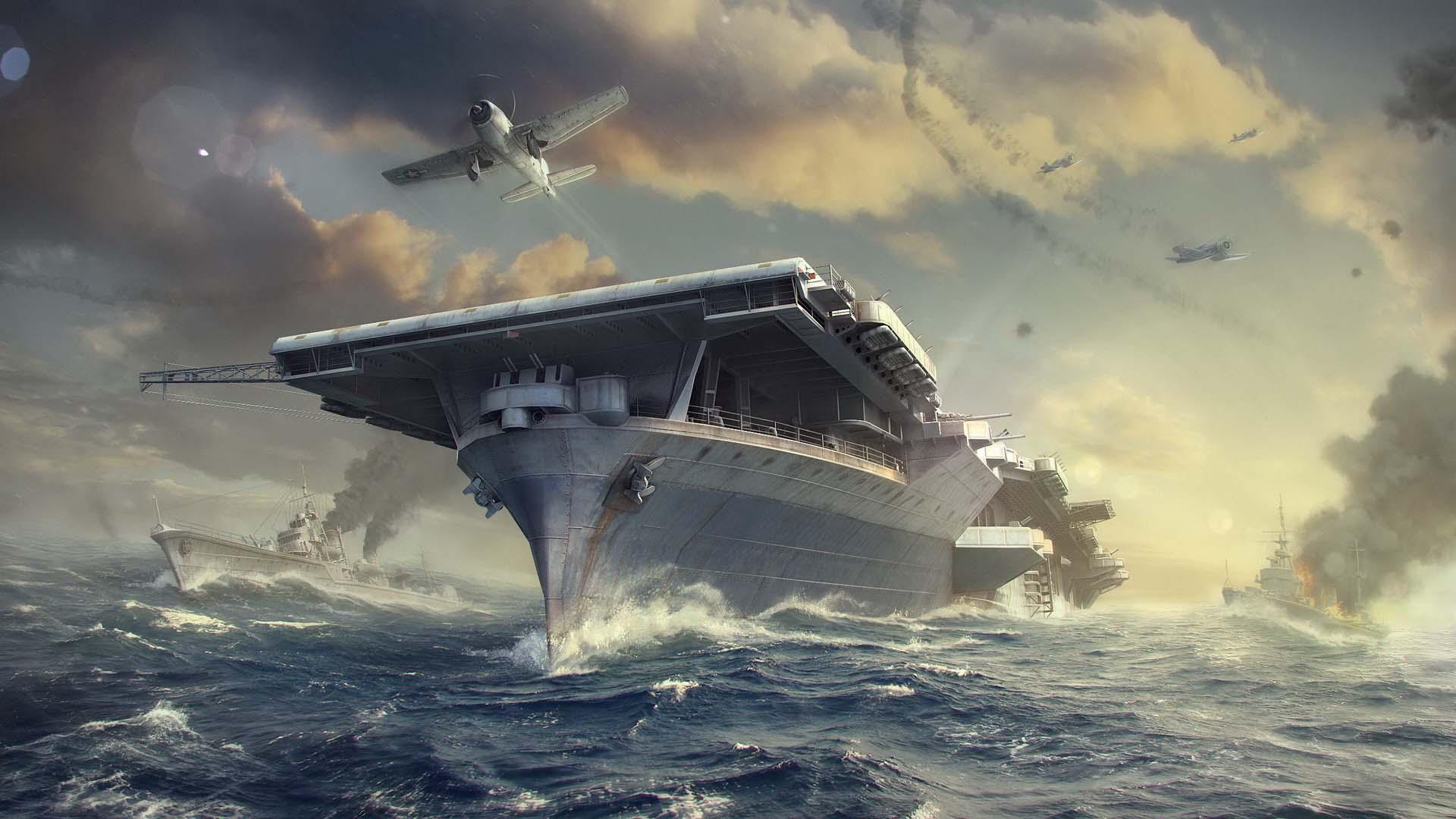 Обои World of Warships