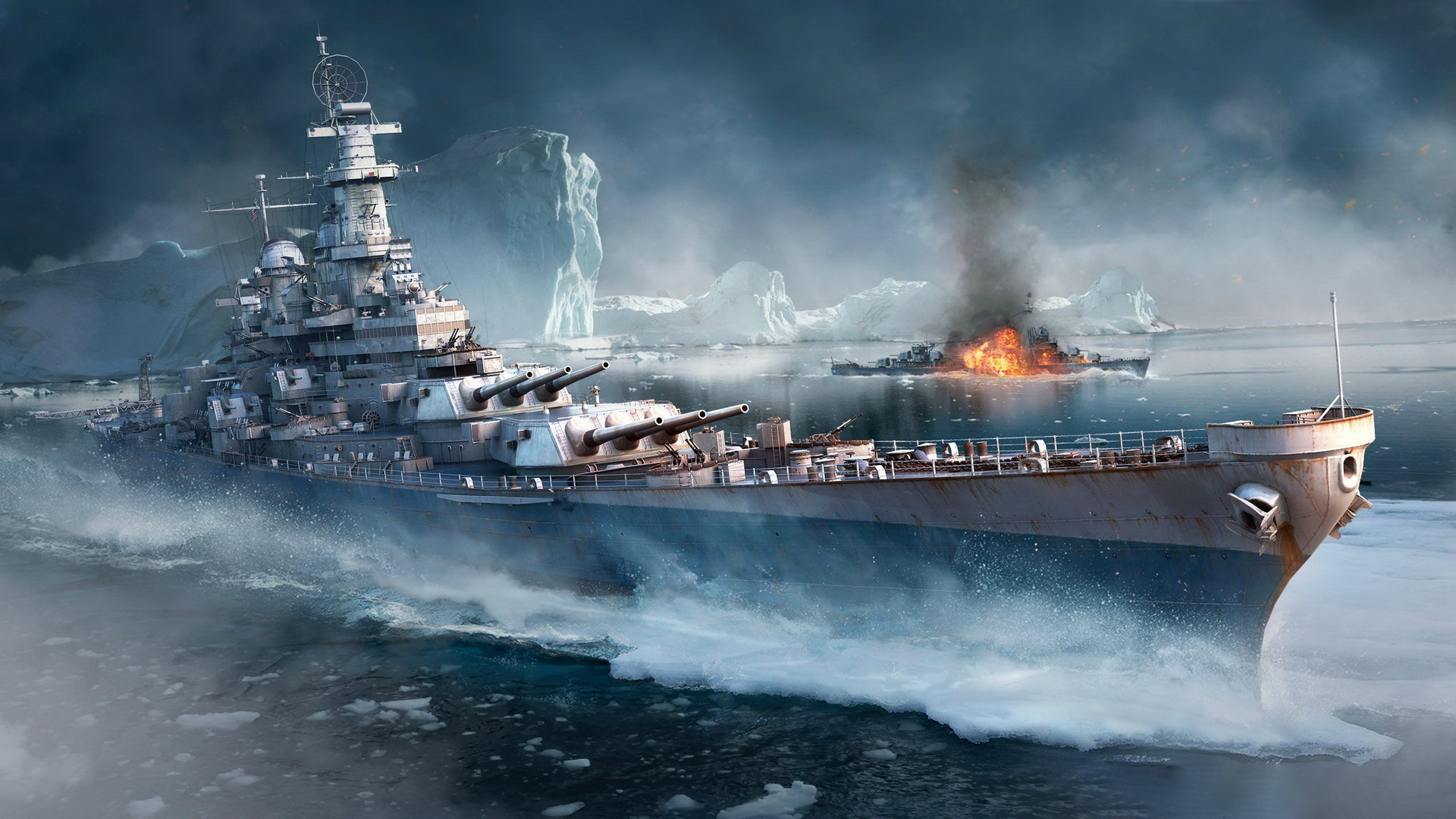 Обои warships photoshop download kostenlos - c6