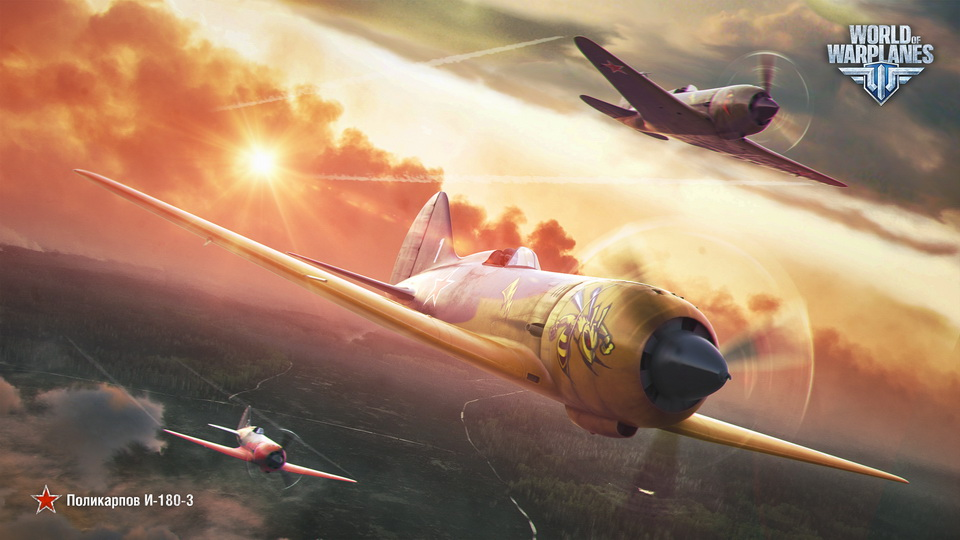 обои World of Warplanes