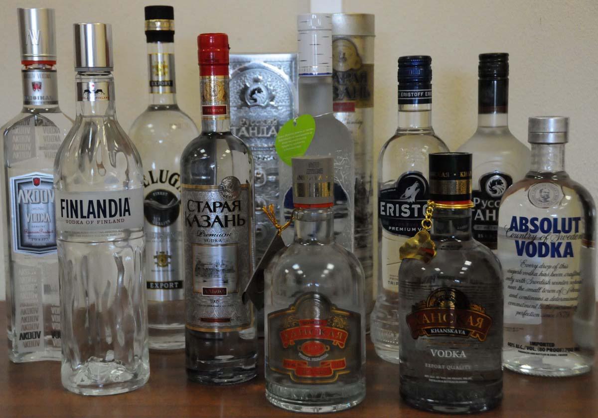 Рейтинг водки в россии