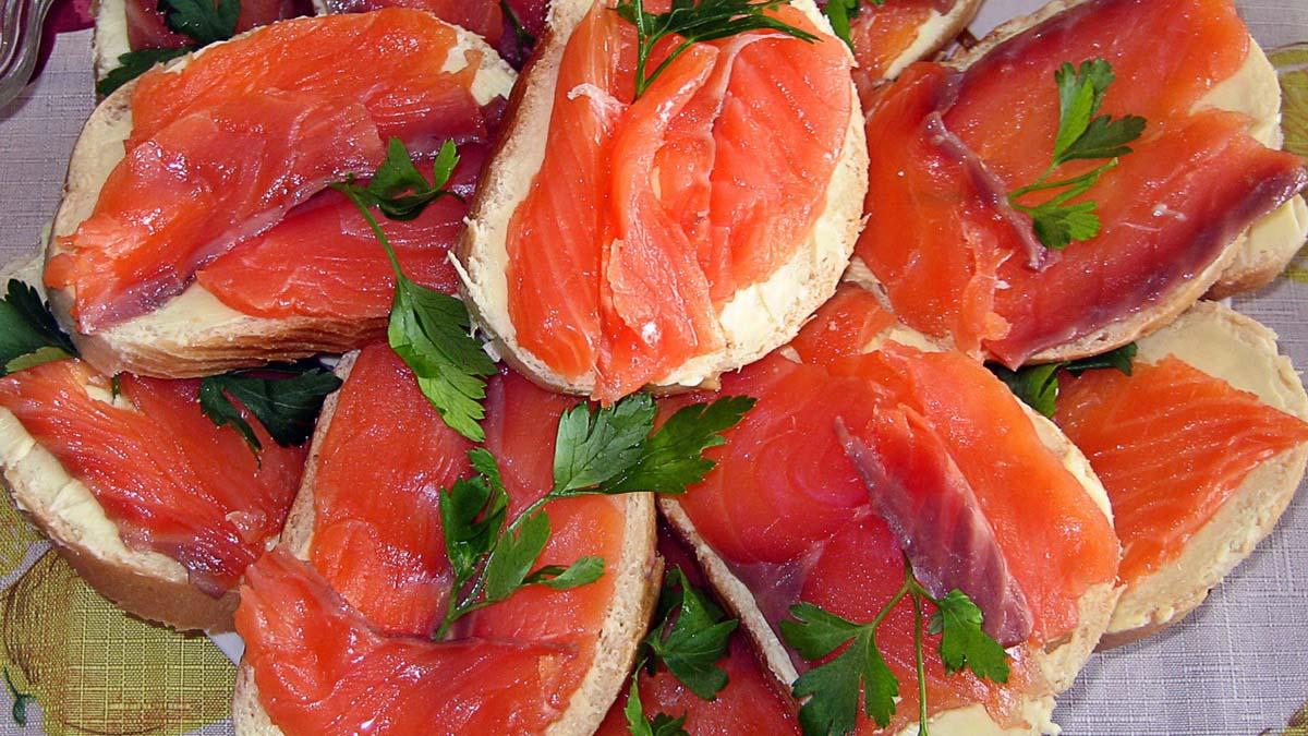 Как сделать бутерброды из рыбы