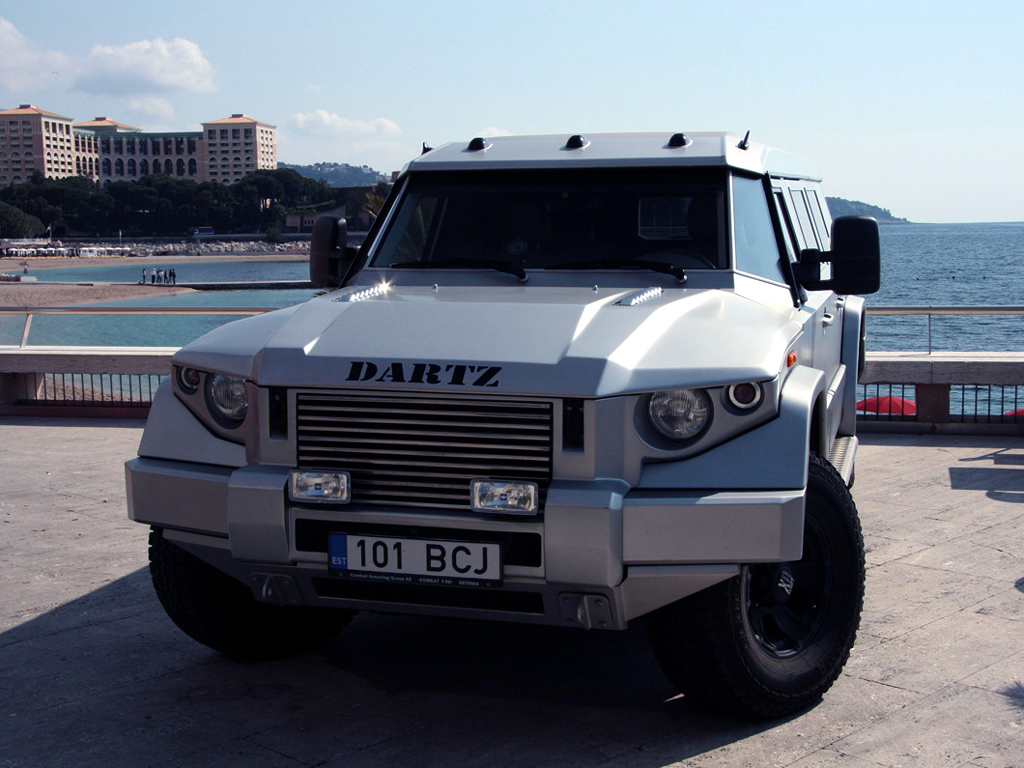 внедорожник dartz prombron wagon