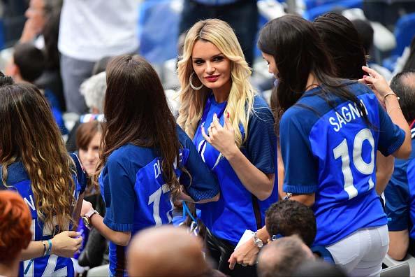 Жены француских футболистов
