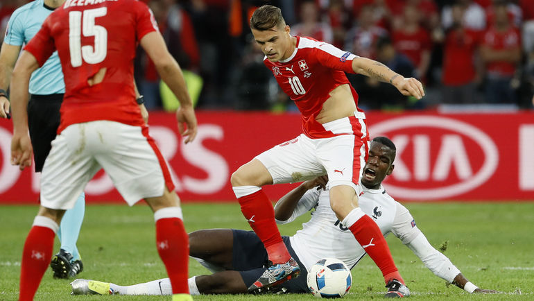 Швейцария Франция Футболки