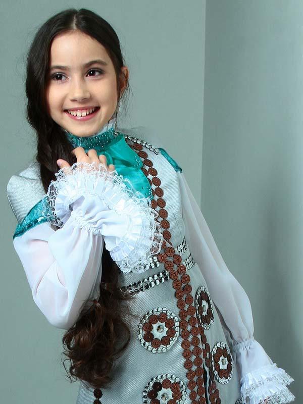 Саида Мухаметзянова - 3 место в 2м сезоне голос-дети