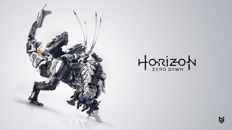 horizon zero down обои