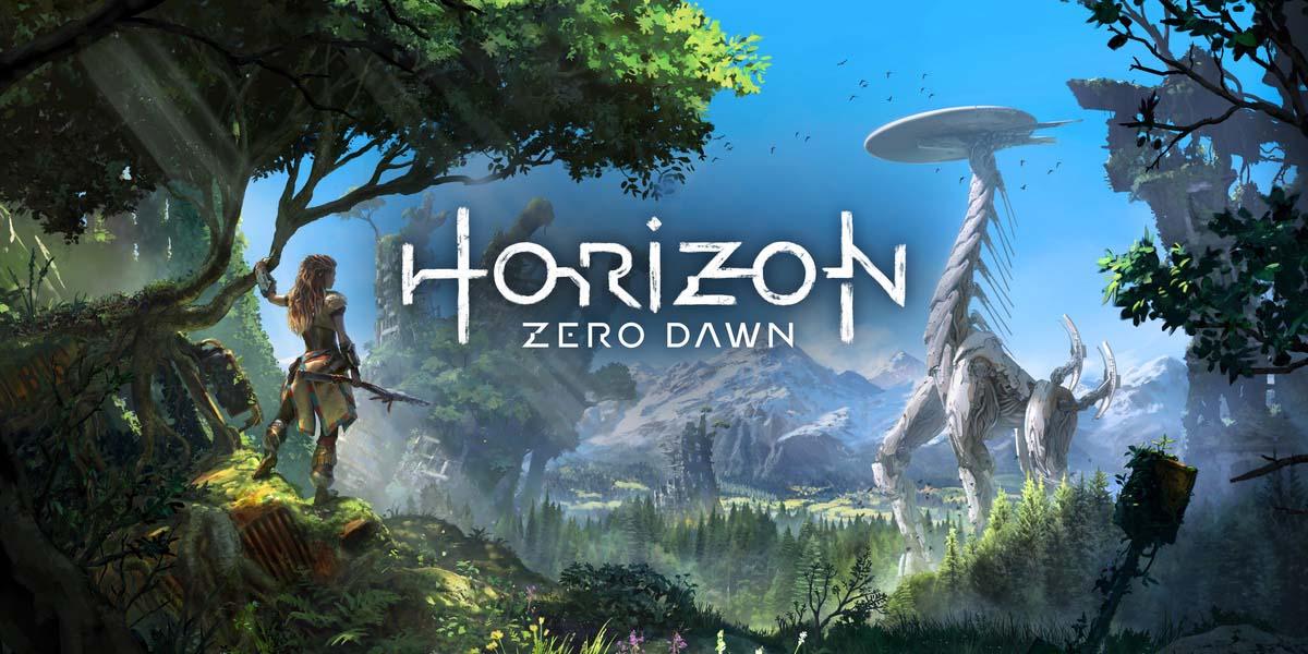 horizon zero down обои