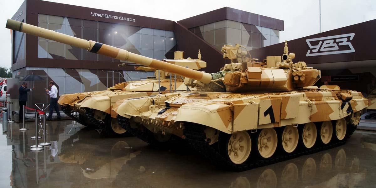 Первые фотографии танков Т-90С во Вьетнаме