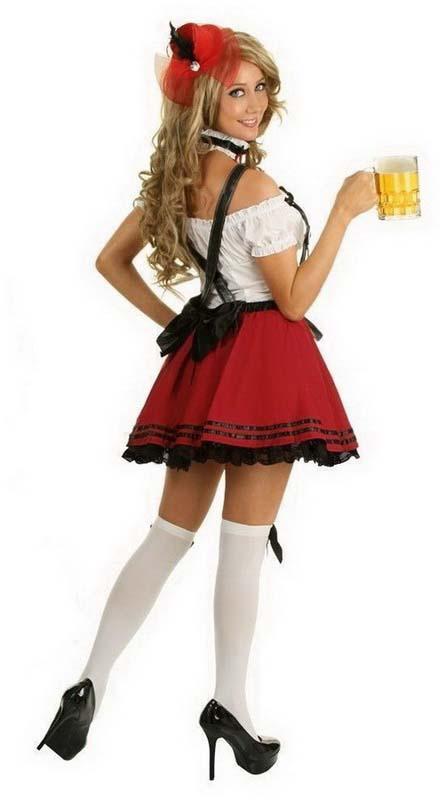 девушка с пивом