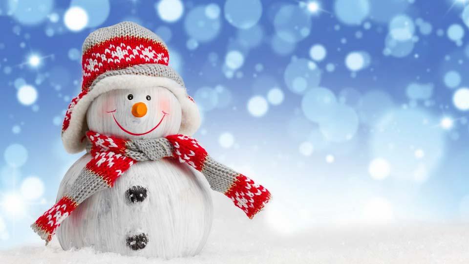 Новогодние Обои Снеговики