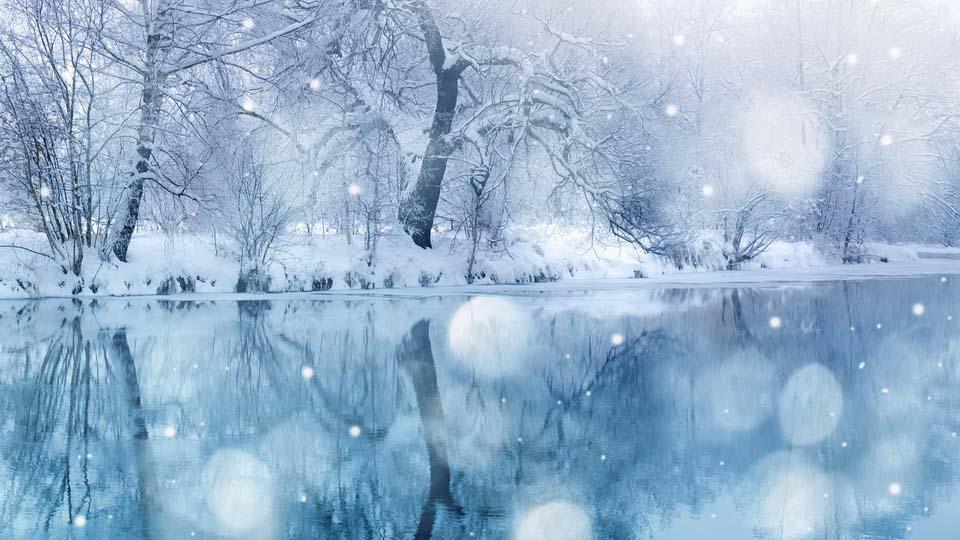 обои зима пейзажи