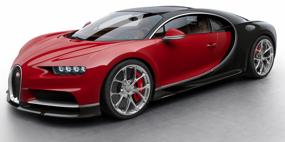 Цвет Bugatti Chiron
