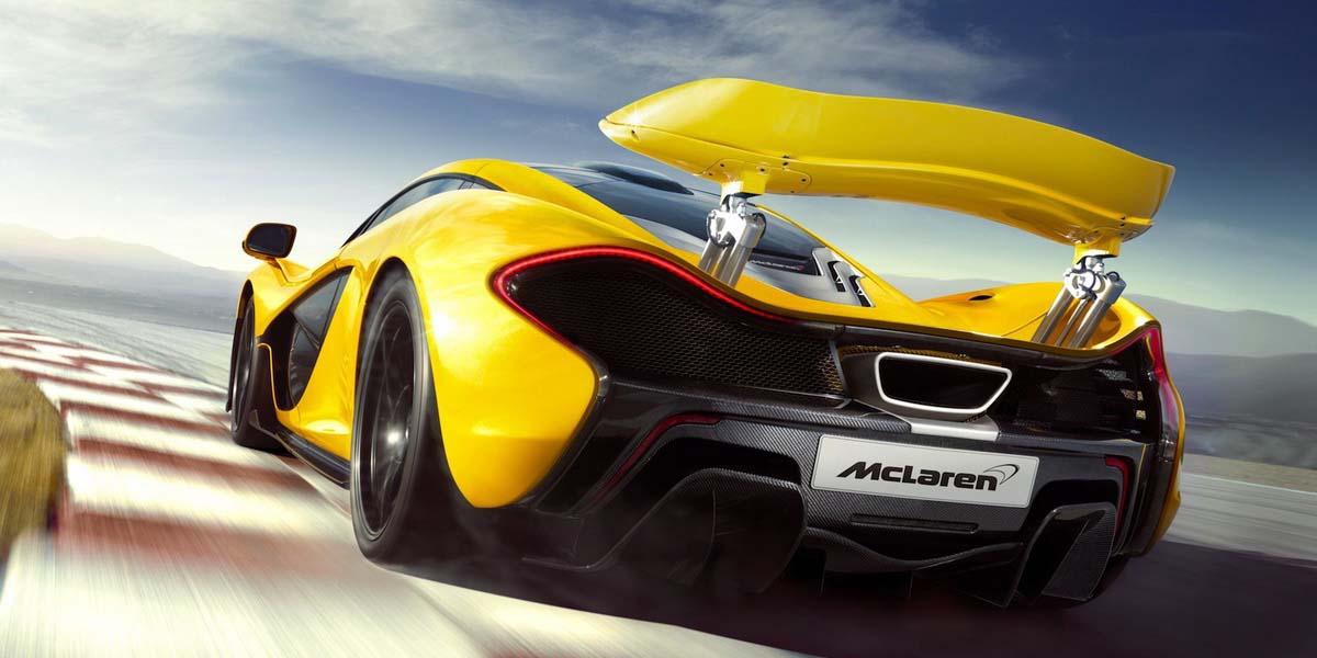 Суперкар McLaren P1