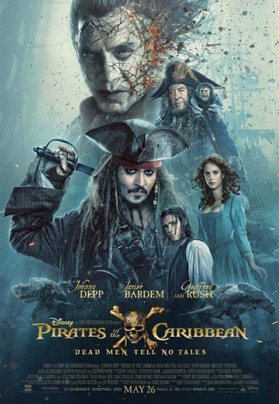 пираты карибского моря 5 постер