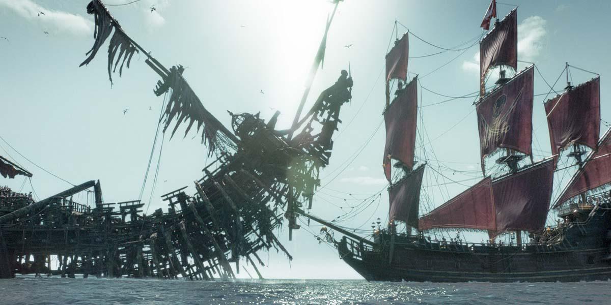 пираты 5 корабли