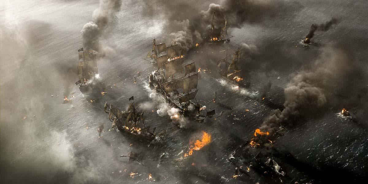 пираты 5 бой