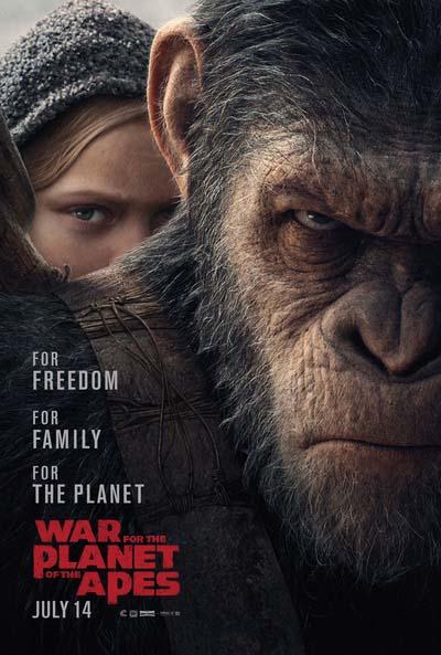 планета обезьян постер