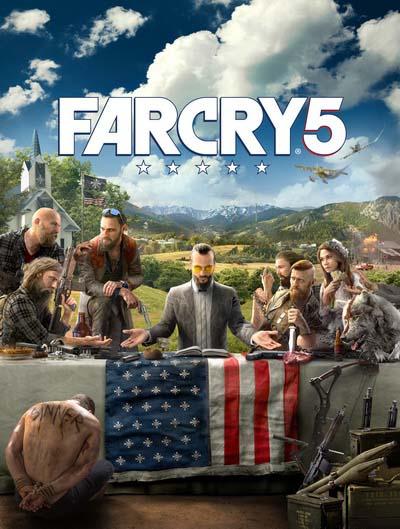 Far Cry 5 (2018) постер