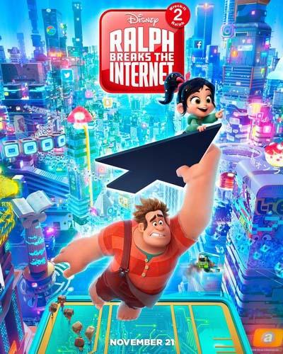 Ральф против интернета (2018) постер