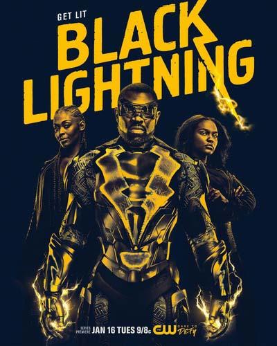 Черная молния (2018) постер
